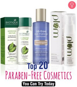 20 Best Paraben Free Cosmetics You Can Try In 2020