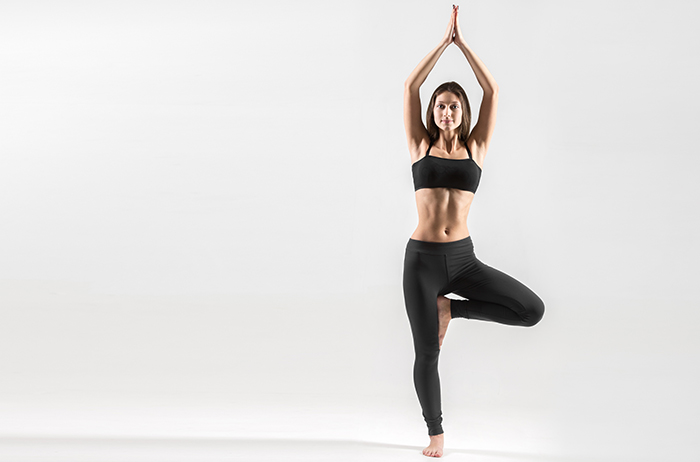 Tree Pose Or Vriksasana