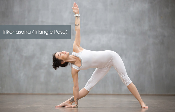 Trikonasana-(Triangle-Pose)
