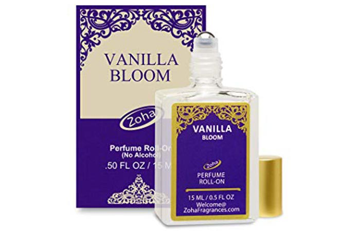 Vanilla Bloom By Zoha Perfume Oil Roll-On