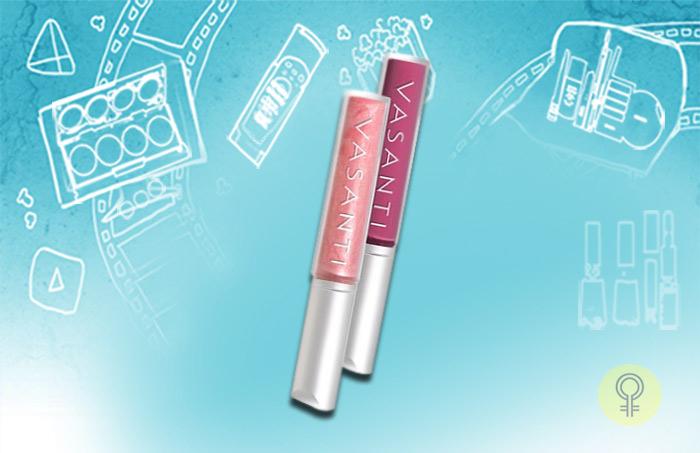 Vasanti's Pink Lipgloss
