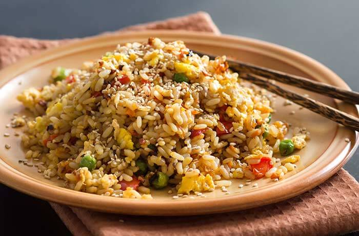 Brown Rice Recipes - Japanese Fried Brown Rice