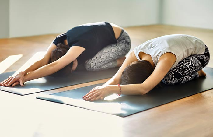 Balasana To Cure Hangover - Yoga