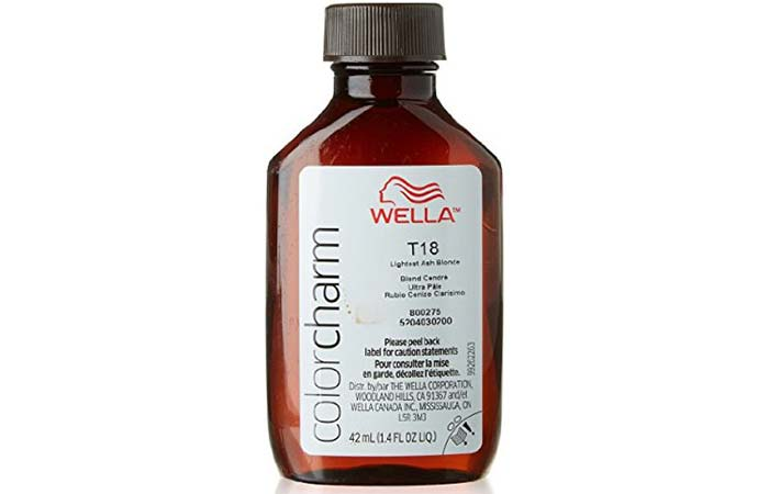 2. Wella Color Charm White Lady
