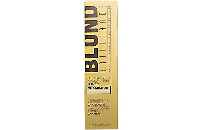 3. Blond Brilliance Perfect Blond Toner