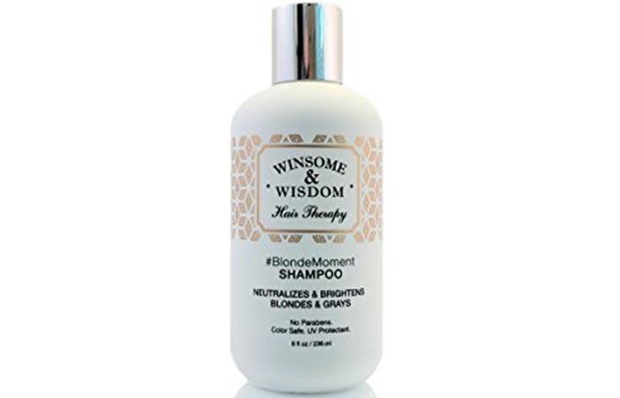 3. BlondeMoment Purple Shampoo