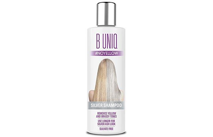 5. B Uniq Silver Shampoo