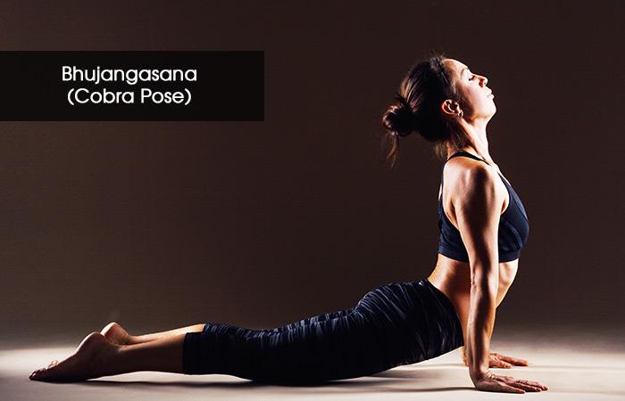 5. Bhujangasana (Cobra Pose)