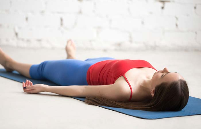 Shavasana To Cure Hangover - Yoga