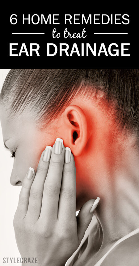 6 effective home remedies to treat ear drainage, Skeleton