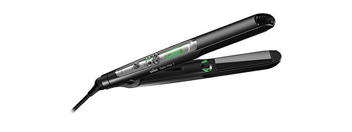 6. Braun Satin Hair 7 Hair Straightener (ST 730)