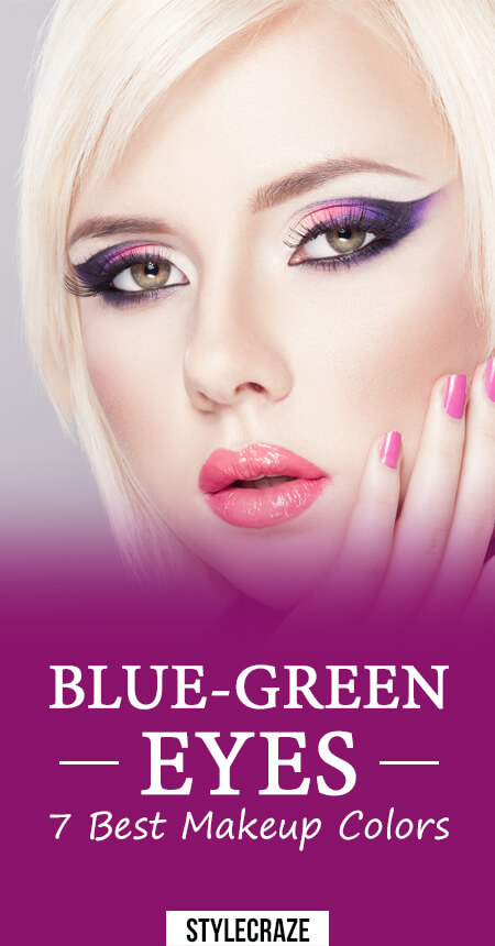 Good makeup colors for blue eyes