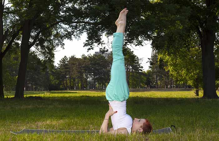 Yoga for Detox - Shoulderstand