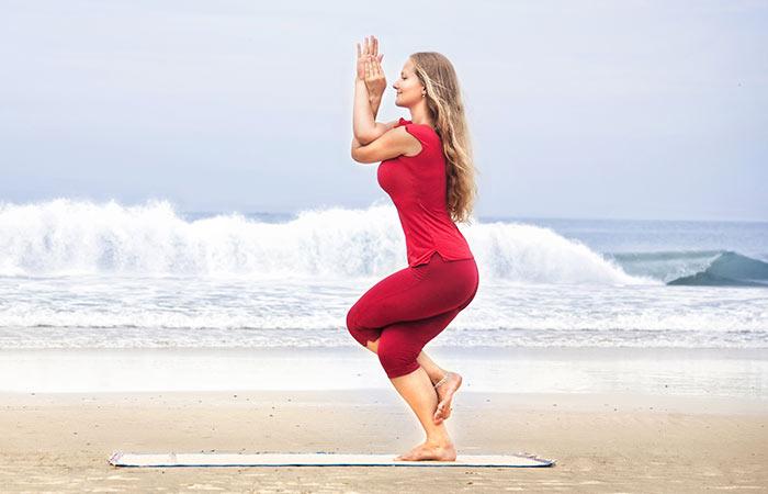 Yoga for Detox - Eagle pose