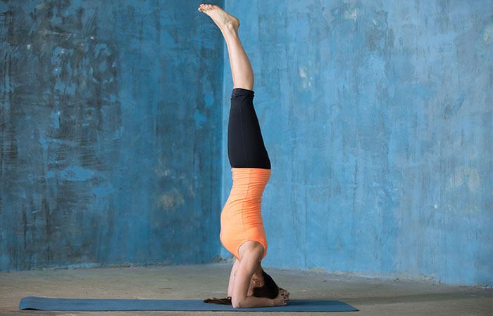 Yoga para desintoxicação - suporte para cabeça com suporte