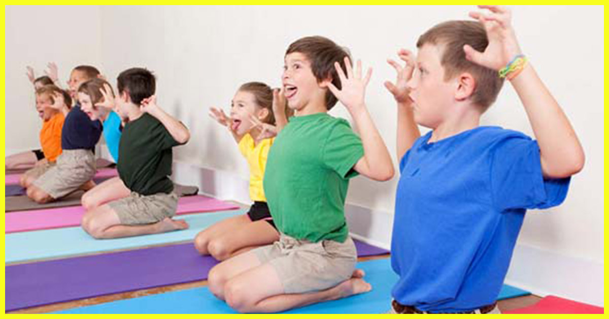 8 fun yoga poses that your kindergarten kid will enjoy and benefit from - Fun Kid Pictures