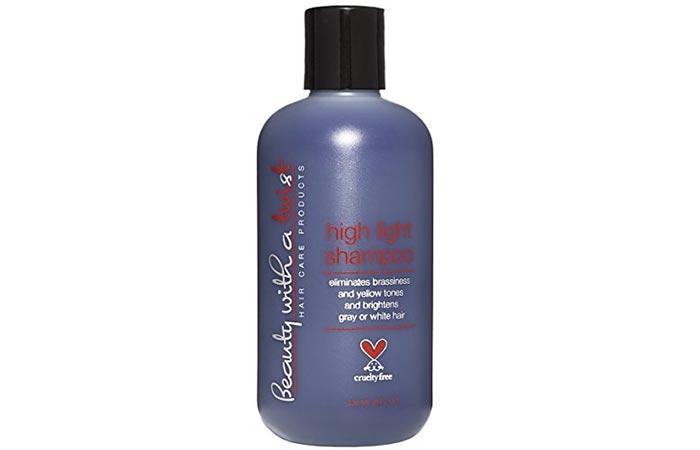 8. Beauty With A Twist Purple Shampoo