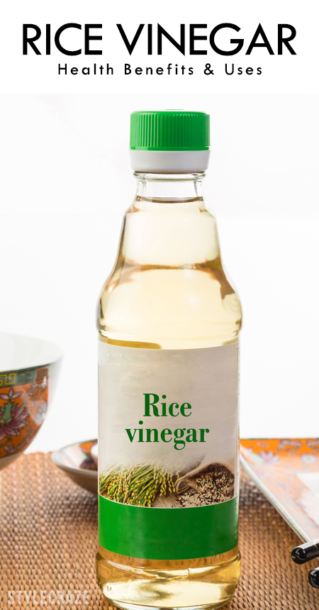 Benefits Of Rice Vinegar