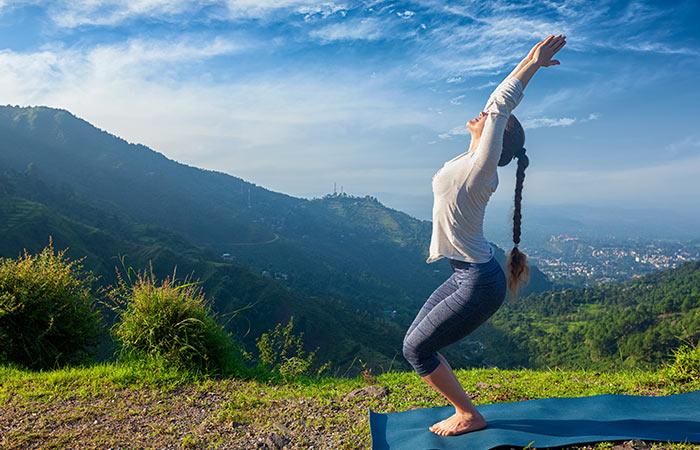 Utkatasana - 15 minutes Yoga for Immunity And Flexibility