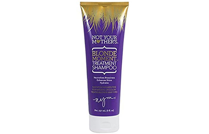 9. Not Your Mother's Blonde Moment Treatment Shampoo