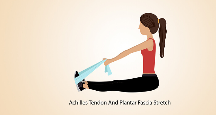 Achilles Tendon And Plantar Fascia Stretch