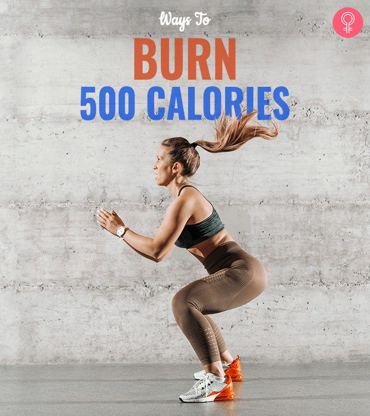 Burn 500 Calories A Day Fast: The 12 Best Workouts