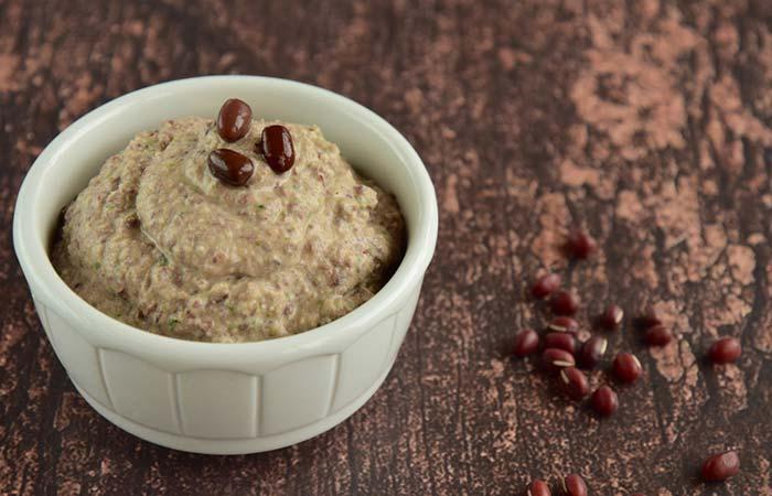 Creamy Adzuki Bean Hummus