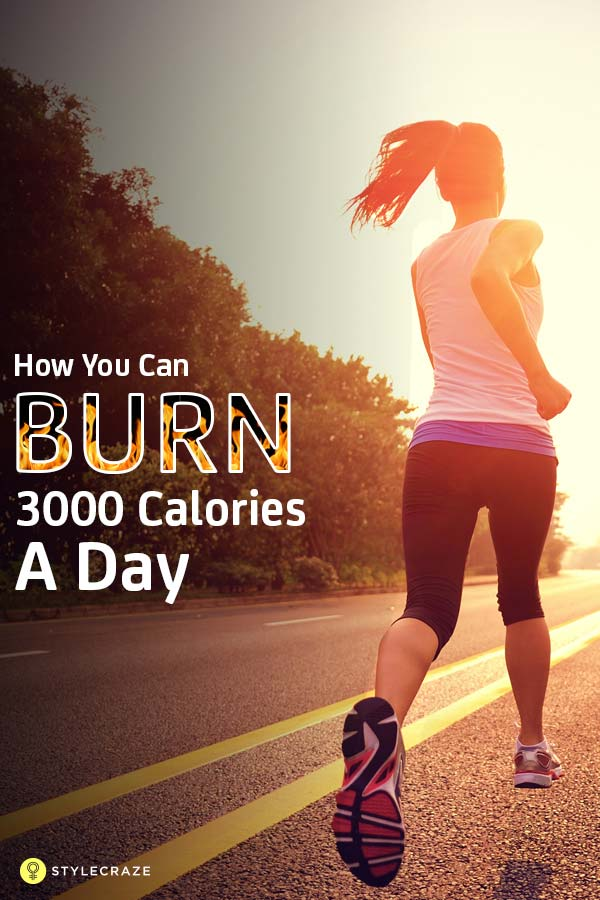 The Ultimate Weight Loss Plan Burn 3000 Calories A Day