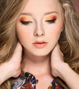 How To Do Orange Eye Makeup?