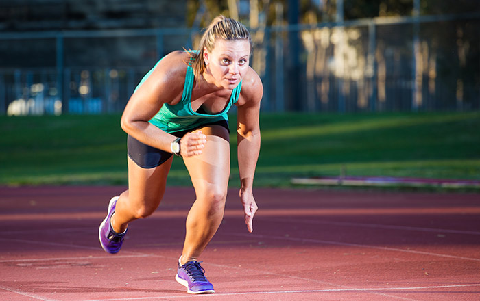 Interval-Training for burn calories