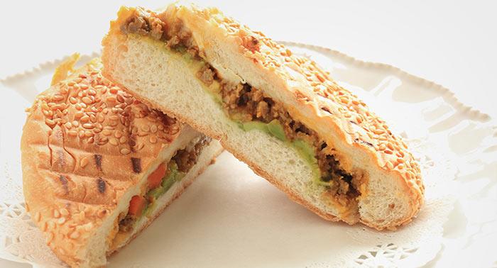 Keema-Sandwich