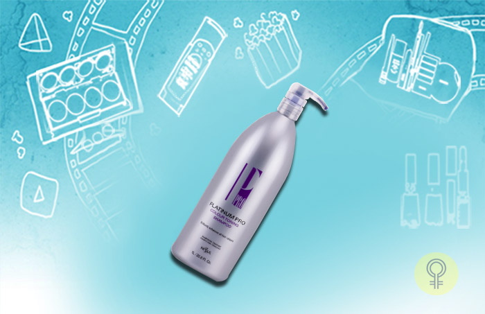 Nexxus Aloxxi Platinum Pro - Colour Toning Shampoo