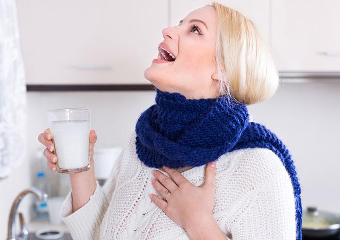 Salt Water Gargle for ear congestion