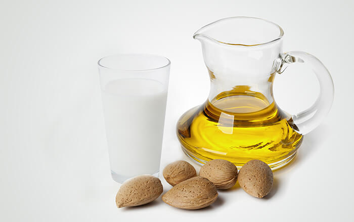 milk-and-almond-oil