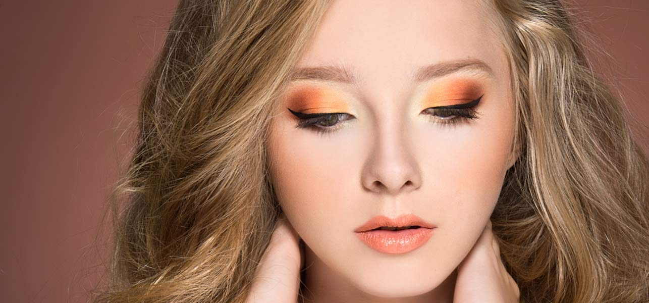How To Do Orange Eye Makeup