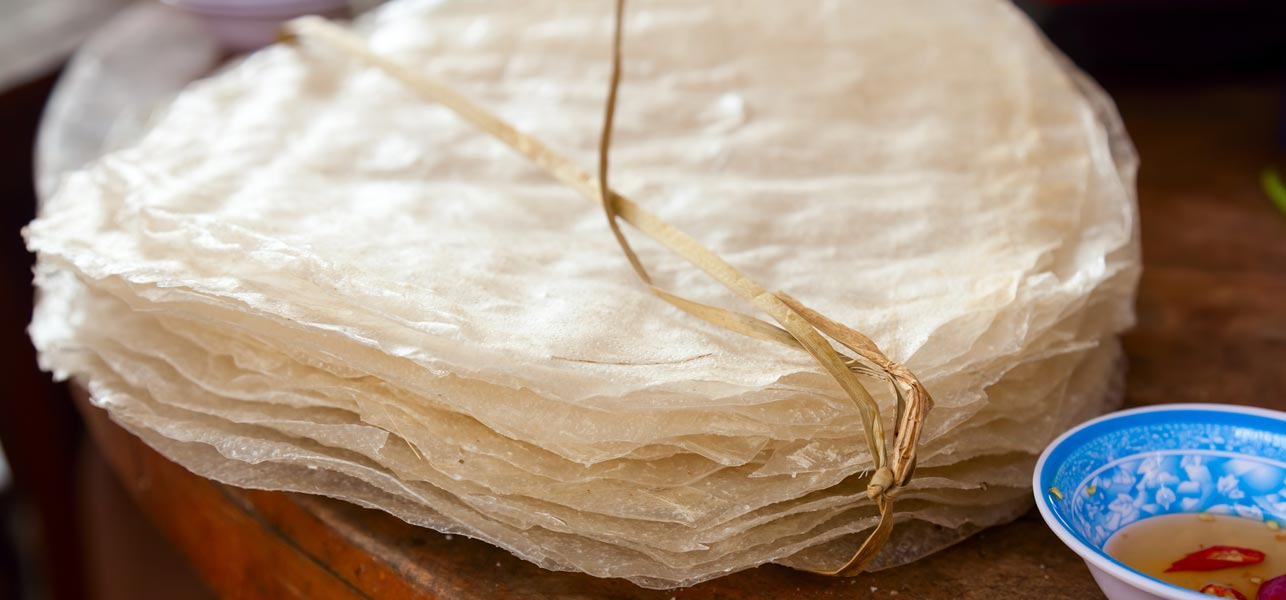 rice paper wrappers