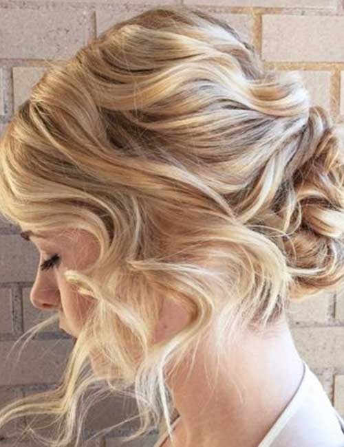 1. The Elegant Tri Updo