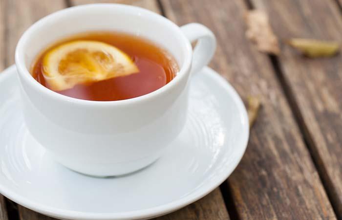 15. Black Tea With Lemon