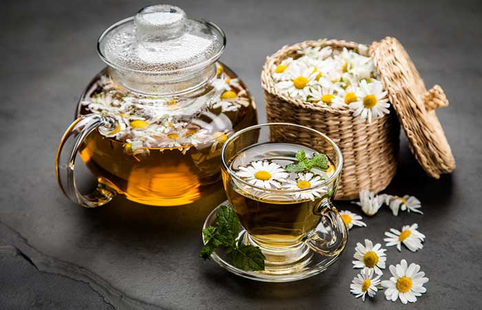 Chamomile Tea - Lower Creatinine Levels