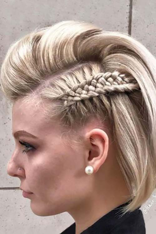 15. One-Sided Four Weave Dutch Braid