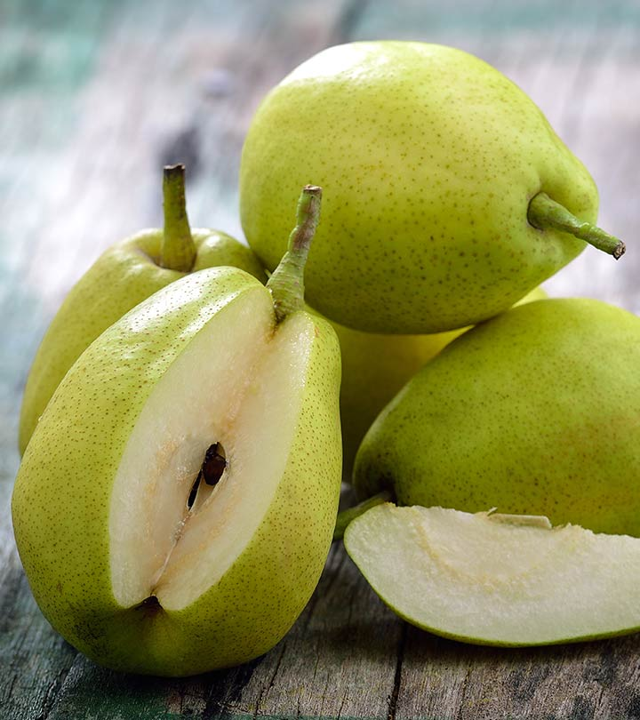 30 Amazing Benefits Of Pears For Skin, Hair, And Health