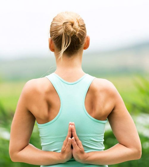 What Is Reverse Prayer Yoga And What Are Its Benefits?