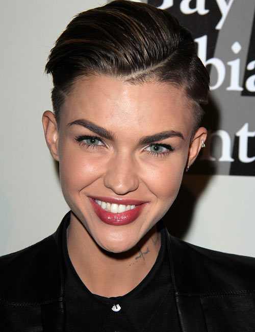8. Slick Side Parting