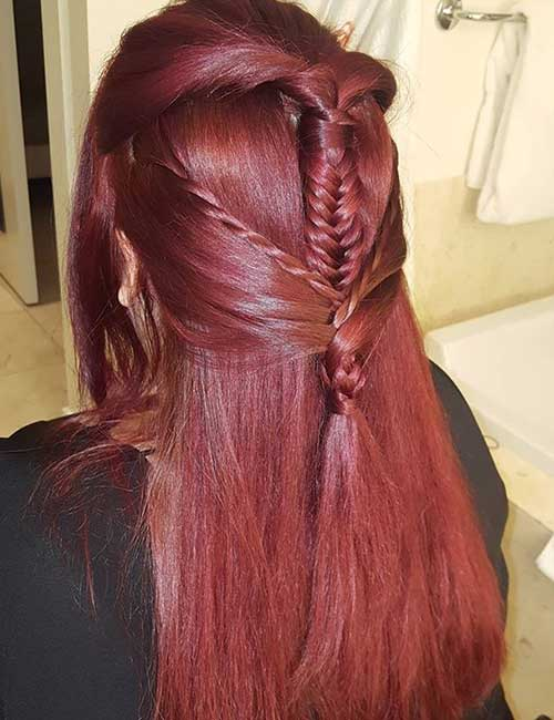 Ancient Braided Half Updo