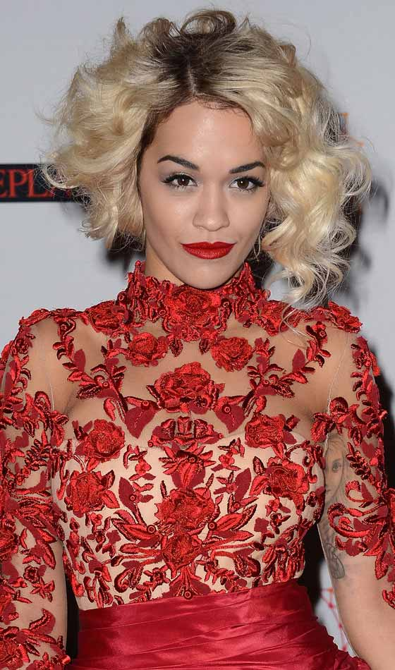 Asymmetric-Curls - Homecoming Hairstyles