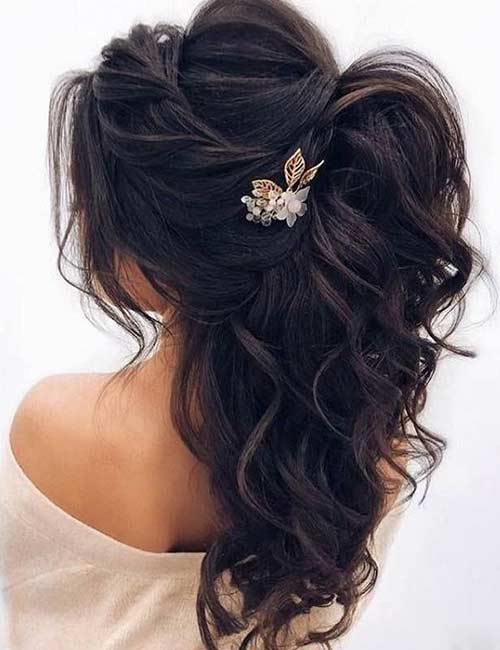 31 Incredible Half Up Half Down Prom Hairstyles