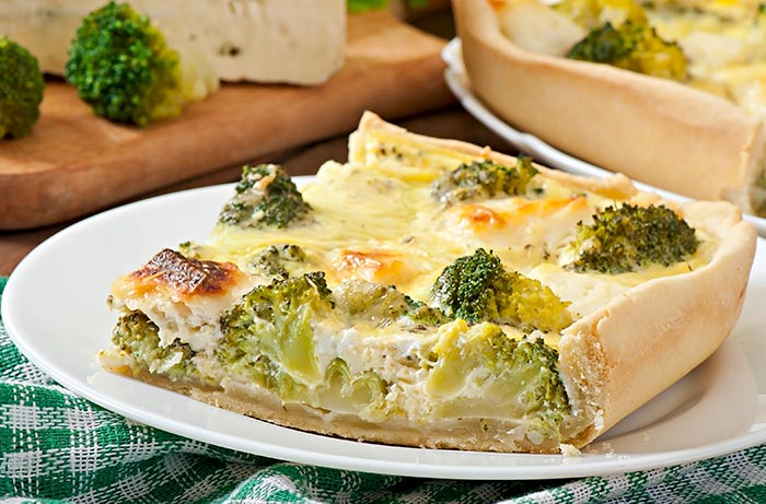 Cheese-And-Broccoli-Tart