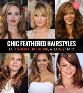 40 Chic Feathered Hairstyles For Short, Medium, And Long Hair