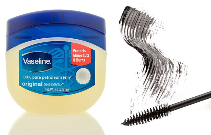 DIY Mascara With Vaseline