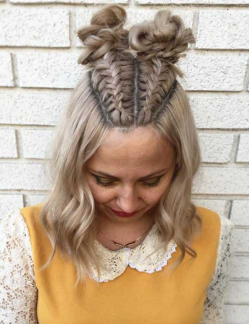 31 Incredible Half Up,Half Down Prom Hairstyles